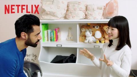Marie Kondo Sparks Joy with Hasan Minhaj   Tidying Up   Netflix