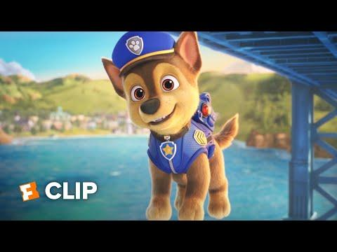 PAW Patrol: The Movie Exclusive Movie Clip - Chase is on the Case! (2021) | Movieclips Coming Soon
