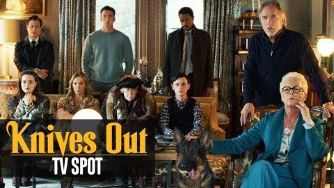 """Knives Out (2019) Official TV Spot """"Foul Play """"– Daniel Craig, Chris Evans, Ana de Armas"""