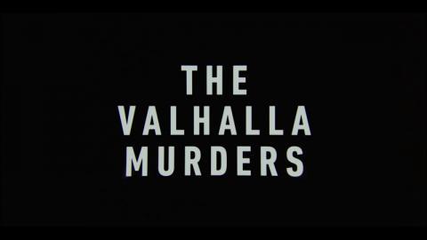 The Valhalla Murders : Season 1 - Official Intro / Title Card (Netflix' & RÚV' series) (2019/2020)