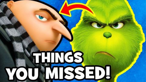 17 THINGS YOU MISSED & Easter Eggs in THE GRINCH