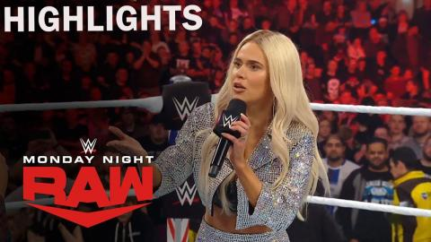 WWE Raw 11/11/2019 Highlight | Lana Claims To Be Pregnant With Rusev's Child | on USA Network