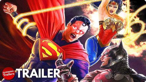 INJUSTICE Trailer (2021) Superman Goes Rogue in New DC Superhero Animated Movie