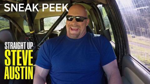 Straight Up Steve Austin | Sneak Peek: Trace Adkins In Steve's Huge Truck | S1 Ep6 | on USA Network