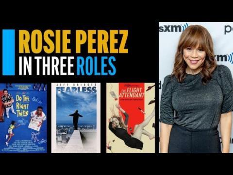 Rosie Perez in Three Roles