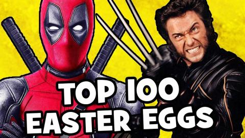 TOP 100 Deadpool 2 EASTER EGGS & Secret Cameos