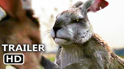 WATERSHIP DOWN Trailer # 2 (2018) Netflix, Animated Rabbit