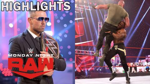 Bobby Lashley Demolishes Braun Strowman and The Miz | WWE Raw 2/22/21 Highlights | USA Network