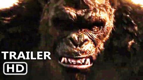 GODZILLA VS KONG Official Trailer (2021) Monster Movie HD