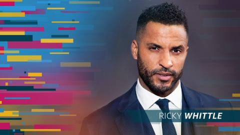 """Why """"American Gods"""" Star Ricky Whittle Really Needs to Use His Imagination"""